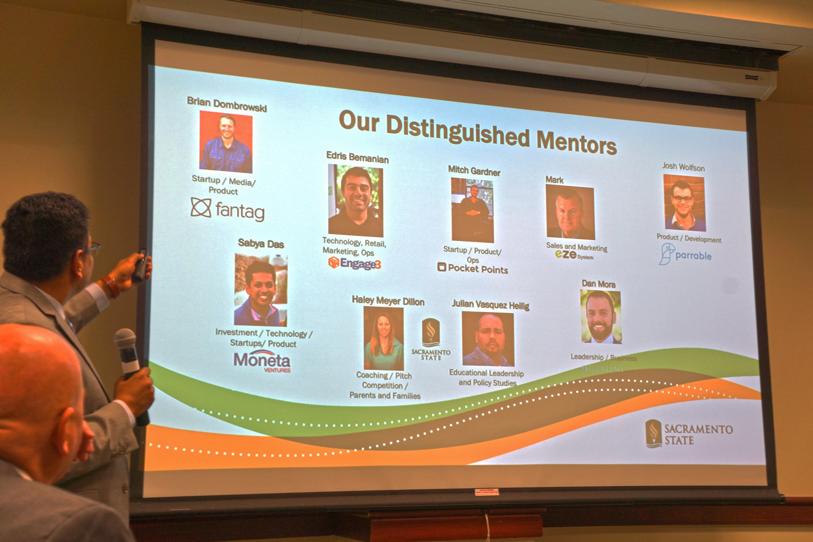 Carlsen Center Entrepreneurship mentors